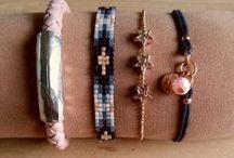 Handmade by Polly / Handgemaakte armbandjes voor dames, heren en meisjes. Arm-candy, Ibiza-style, stoer. De website is inmiddels gesloten
