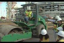 Kids learn about Construction! / Kids go on field trips to learn about construction.