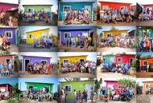 Homes of Hope / Moments captured from the transformation taking place one house at a time in some of the poorest colonias in Mazatlán, Mexico.