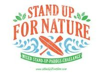 Stand Up For Nature / Mixed Paddle SUP Challenges - www.standupfornature.com -