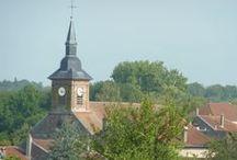 Pexonne et alentours / Village de Meurthe et Moselle, Lorraine, France, village des vacances de mon enfance, village d'origine de ma famille paternelle