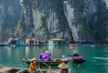 Vietnam travel / Vietnam travel advice and inspiration from While I'm Young, the travel and lifestyle blog for 20 somethings with wanderlust. Vietnam destination guides, stories from the road and tips for traveling in Vietnam. Follow for gorgeous Vietnam pictures!