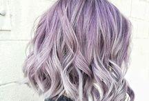 P U R P L E   H A I R. / Muitas inspirações de cabelo roxo, lavanda, lilás...
