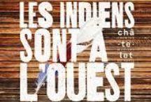 Les indiens sont à l'Ouest / Comédie musicale mise en musique par Juliette et mise en scène par Christian Eymery. le CREA : 63 interprètes des choeurs de scène et les CREA'tures