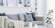 Interior Decor Ideas / Making a house a home <3 Interior design ideas and photographs from my own home decorating efforts. Chic homeware for stylish women and couples. If you love home decor, you'll find inspiration here!
