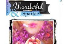 February 2016 Main Challenge / Our February Main Challenge consists of WONDERFUL as the word inspiration & SPARKLE as the creative challenge. To learn more about how to play along and all the wonderful prizes up for grabs, visit http://morethanwordschallenge.blogspot.com/2016/02/february-2016-main-challenge-wonderful.html