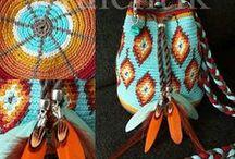 Haken en breien / Wayuu Mochila tasjes haken, truien en vesten breien