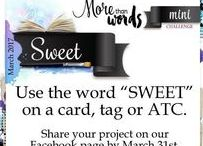 March 2017 Mini challenge / To learn more about More Than Words challenges, visit http://morethanwordschallenge.blogspot.ca/. #morethanwordschallenges #morethanwords #mtwchallenges #mtw