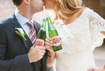 Ale-8-One Weddings/Party/Favors / What could be more exciting than a wedding? A wedding that has Ale-8-One! Whether the bride and groom share an Ale-8-One or they graciously send off their guests with a cold glass, Ale-8-One is welcome at any wedding!