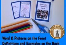 Flashcard Uses and Ideas / A collection of different ways to put those flashcards to use!