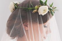 Wedding - Veil & Hair style / Ultimate guide for wedding hair styles including veils. / by Emerald Scarf