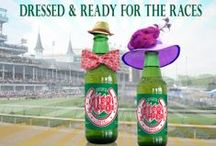 And They're Off! -Celebrating KY Derby at Home / If you can't attend the Kentucky Derby, then look here for some ideas to throw your own party at home. Maybe even a Derby themed wedding!