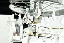 jar crafts / My favorite ideas to reuse jars.