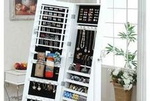Clever ways to storage / Genius ways to save space / maximise storage space/ how to solve storage problems / room saving ideas/ space-saving...   with style! ;)