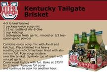 Tailgating: Leaders Aren't Born, They Are Made / Everything you need to prepare for a successful tailgating season! Recipes, accessories, and your favorite beverage.