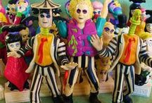 Beetlejuice Toys & Collectibles 1989 By Kenner / by B&C Toys & Collectibles