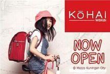 Kohai Inspiration / Come Out and Play With Kohai.