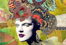 collage and recycled object art