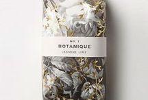 Organic look / packaging inspiration