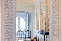 le BLANC dans les interieurs orientaux  - WHITE in moroccan interiors