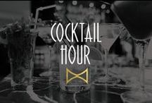 Cocktail Hour / We'd like to speak to whoever limited cocktail hour to just 60 minutes.