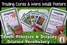Science Vocabulary / Resources and ideas to help students understand science vocabulary.
