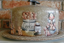 Cake Lollies and storage Tins