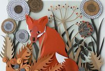 Paper art / Such a beautiful things can be made of #paper, this is #art!