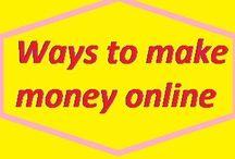 Ways to make money online / Ways to make money online