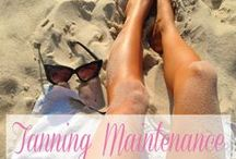 Tanning Tips / Learn how to maximize the life of your tan with just a few simple tricks