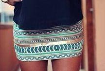 Dress and skirts