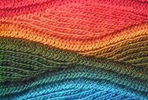 tejido a dos agujas / hermosas prendas, accesorios  tejidos / by Alicia Dominguez