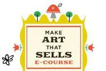 Make Art that Sells MATS / Spring 2014 I did MATS A, now starting with MATS B, Make Art That Sells, online course of Lilla Rogers