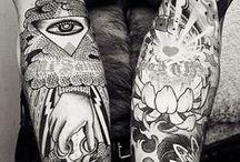 tatts / ink on skin