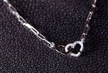 """Collection Double Cœurs / The famous Menottes dinh van clasp also takes the form of Double Hearts, a romantic interpretation of """"You and Me"""""""