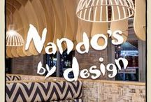 Nando's By Design / South African creativity is the source of Nando's fire! Welcome to our beautiful restaurants where you can discover local South African art and design by sizzling South African talents one PERi-pin at a time.  / by Nando's SA