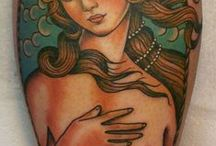 Tattoos (traditional) / by Hayley K. Stuart