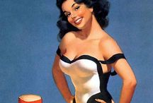 1940's, 1950's Pin up and Vargas Girls / by Tarryn