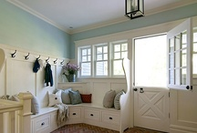 gorgeous yet functional mudrooms... / by The Farmer's Trophy Wife