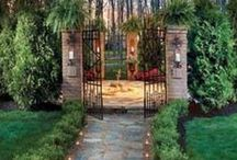Landscaping and Gardens / A little soil under the nails does wonders for the soul. Here are some great ideas for Landscaping and Gardening.