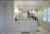 Bathrooms / Bring the spa home. Here are some creative shower, bath, and  design ideas.