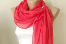 Scarves / Pretty accessories... #Scarves #Acessories