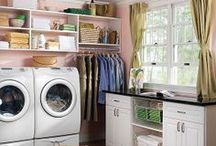 Laundry Storage and Organization / Laundry is a breeze in a space this organized.