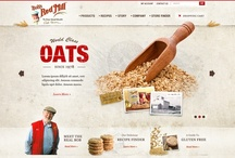 graphic & web inspiration / layout and color