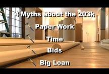 FHA 203k / FHA 203k is a mortgage loan option that helps you turn a house into a dream home. From kitchen remodeling to a new roof and replacement windows, the 203k loan helps finance all kinds of renovations. Learn more here: http://blog.amerifirst.com/fha-203k  / by AmeriFirst Home Mortgage