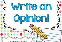 Writing- opinion  / by Ruth Kuniholm