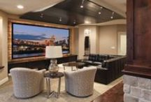 Theater Rooms / Join us for our favorite movie rooms and spectacular home theaters.