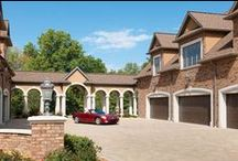 Garages / Garages geared towards harboring your favorite car collection and welcoming you home.