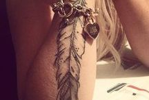 Tattoo: Feathers