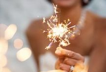 glitter in the air / clothes, sparklers, glitter, idk